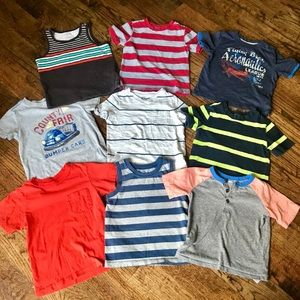Other - Lot of 2T Old Navy t-shirts and tanks